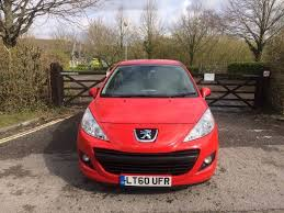 peugeot cat 2010 peugeot 207 red 1 4 petrol cat d 42000 miles mot 1 july