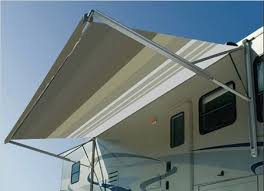 Sunchaser Awnings Replacement Fabric Dometic A U0026e 18 Ft Weatherpro Vinyl Awning With Metal Weathershield