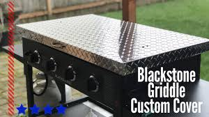 blackstone griddle surround table custom blackstone griddle cover by backyard life gear youtube