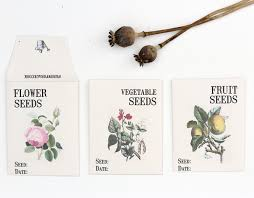 seed envelopes grow forage cook saving seeds and free seed envelope template