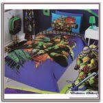 Ninja Turtle Bedding Yellow And Gray Comforter Sets Bedroom Galerry