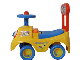 push along ride on car children car toy alphabet themed storage