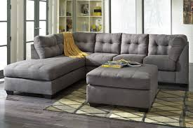 gray sectional with ottoman malo sectional ottoman at gardner white