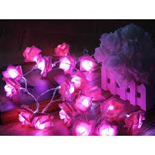 aliexpress com buy 20leds rose flower stylish string lights