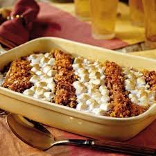 candied yam and marshmallow casserole 101 wizardrecipes
