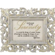 serenity prayer picture frame serenity prayer frame the catholic company