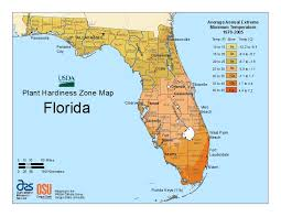 florida plant hardiness zone map growin crazy acres