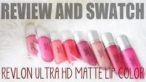 revlon ultra hd matte lip color review u0026 swatch bahasa indonesia