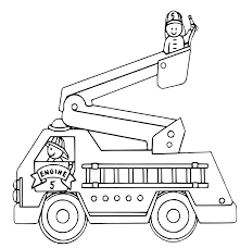 fire truck coloring pages getcoloringpages com