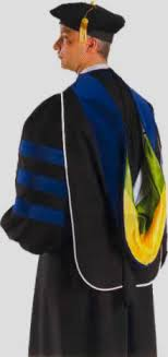 doctorate gown doctoral gowns and phd gown to go with tam and for academic