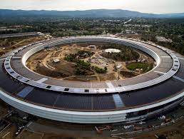apple spaceship campus moves closer to completion as residents