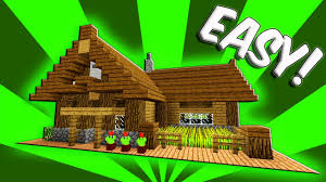 Build A Small House by Minecraft How To Build A Small Survival Starter House Tutorial