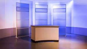 News Studio Desk by Curve News Desk