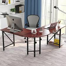 L Shaped Desk Modern Tribesigns Large L Shaped Desk Modern Corner Computer Desk Pc