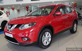 red nissan car nissan x trail now available in flaming red for cny