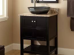 Bathroom Vessel Sink Faucets by Bathroom Sink Appealing Granite In Brown Color With Cool Dark