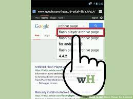 how to get adobe flash player on android how to get flash player for android 5 steps with pictures
