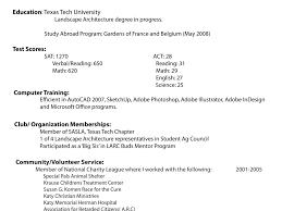 Landscape Resume Samples by 100 Help Make A Resume Show A Resume Sample Resume Cv Cover