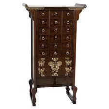 Oriental Decor Oriental Furniture Korean Style 18 Drawer Herbal Medicine