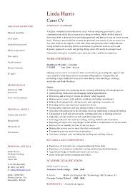 Housekeeping Resume Examples by Cv Resume Samples