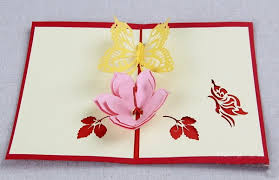 handmade folding greeting cards with floral theme handmade4cards com