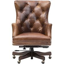 Executive Office Chairs Fabric Executive Theodore Leather Office Chair Cognac Hooker