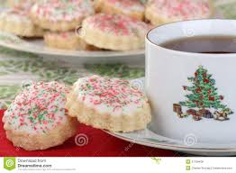 christmas cookie coffee christmas lights decoration