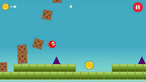 Apk Downloader Red Ball Jumping Bounce Apk Download Free Arcade Game For