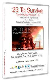 To Survive Study Helper Version     Ships With Both Windows     Knightlite Software