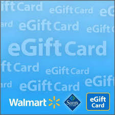 sam s club and walmart egift card walmart
