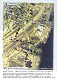 Nassau Map Researcher Pinpoints 1614 Albany Fort Location The New York
