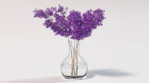 Branches In A Vase Flower Vase Renders