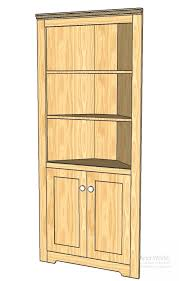 Corner Display Cabinet With Storage This Corner Cupboard Can Turn An Empty Corner Into A Storage And