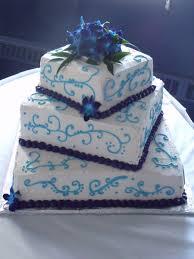 blue orchid wedding cake cakecentral com