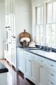 white kitchen cabinets soapstone countertops white shaker cabinets with black soapstone counters