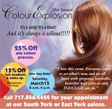hair color explosion salon york pa indulge salon salon york