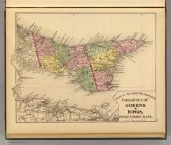 Queens Map Queens Kings Counties P E I David Rumsey Historical Map