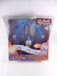 2004 mattel yu gi oh electronic blue eyes shining dragon figure ebay