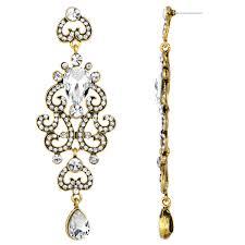 antoinette earrings antoinette s fancy antique dangle earrings clear