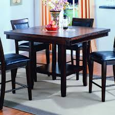 dining room table with lazy susan crown mark fulton counter height table with bottom shelf royal
