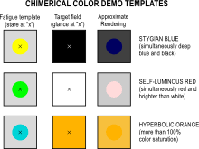what each color means impossible color wikipedia