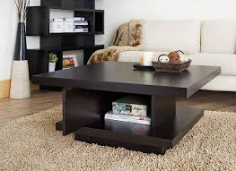 Storage Living Room Tables Iohomes Celio Square Coffee Table Cocoa Kitchen