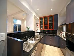 kitchen modern u shaped normabudden com