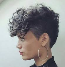 best 25 undercut curly hair ideas on pinterest curly pixie
