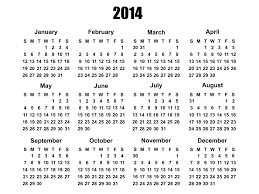 Template Of Calendar 2014 2014 calendar template free stock photo domain pictures