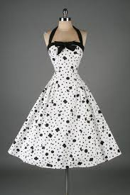 vintage 1950s dress i love this i wish this era of