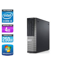 pc de bureau reconditionné dell optiplex 390 desktop i3 pc bureau reconditionné