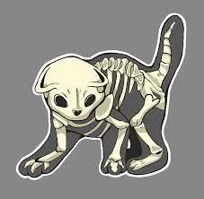 of darkness by pastelumbreon on skeleton cat sticker by pastelumbreon on deviantart