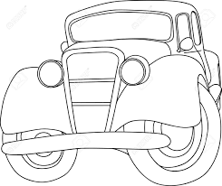 old car isolated on background royalty free cliparts vectors and
