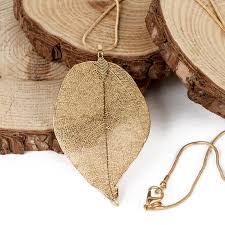 real leaf necklace images Natural real leaf necklace boreal forest gifts jpg